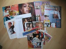 Beyonce Knowles Destiny's Child - rare clippings/cuttings/articles