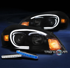 2006-2013 CHEVY IMPALA//2014-2015 LIMITED CRYSTAL HEADLIGHT BLACK//AMBER W//8K HID