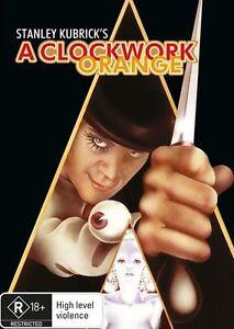 A Clockwork Orange (DVD, 2017), NEW SEALED AUSTRALIAN RELEASE REGION 4