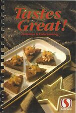 SAFEWAY GROCERY STORES 1989 TASTES GREAT COOK BOOK HOLIDAYS & ENTERTAINING *RARE