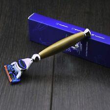 Men'S Gillette Fusion(Replaceable Head)Shaving Razor In Horn Handle New in Stock