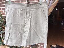 NEW Columbia Titanium Omni-Dry Women's Sz 8 Khaki Skirt Skort Shorts