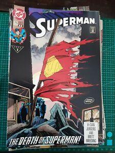 SUPERMAN # 75 (DEATH OF SUPERMAN, Jan 1993) DC COMICS
