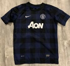 Nike Dri Fit Manchester United Soccer Football Jersey Youth XL In EUC