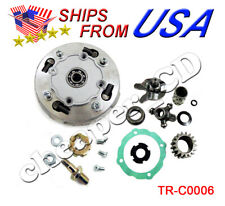 Clutch 17 Teeth Set 110cc 125cc 135cc w/ Semi Automatic Reverse ATV Dirt Bike
