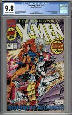 Uncanny X-Men #281 CGC 9.8 NM/MT 1st Appearance of Trevor Fitzroy New X-Men Team