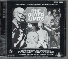 DOMINIC FRONTIERE THE OUTER LIMITS MINT CRESCENDO RECORDS EDITION (1993)