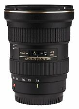 Tokina At-x 14-20mm F2 Pro DX Aspherical Wide Angle Zoom Lens Canon Cc1383