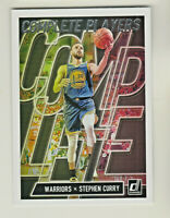 2019-20 Panini Donruss COMPLETE PLAYERS #7 STEPHEN CURRY Golden State Warriors