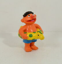 """Dinosaur Innertube Ernie 2.5"""" Applause PVC Action Figure Sesame Street Workshop"""