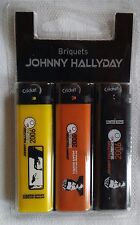 BRIQUETS JOHNNY HALLYDAY - LOT DE 3 - CRICKET - TOURNÉE 2006 - NEUF NEW NEU