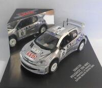 Skid 1/43 Scale Diecast Model SKM129 PEUGEOT 206 WRC G.PANIZZI KENYA RALLYE 2000
