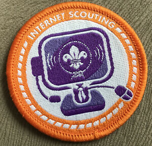 Scout Cloth Badge Internet Scouting - Blanket Badge