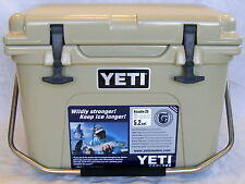 Yeti Cooler Roadie 20 Quart Desert Tan YR20T New