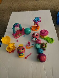 Lot of ZOOBLES Spin Master Toys Transforming Balls Bot Bots & Accessories