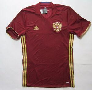 EURO 2016 Russia Home Jersey Adidas Adizero T-Shirt Soccer Football Player
