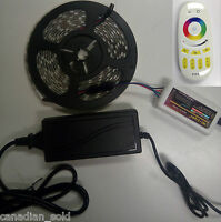 RF Remote 4-zone LED COMPLETE SET SMD5050 RGB FREE CANADIAN SHIPPING kit