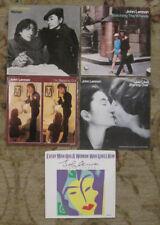 LOT of 5 JOHN LENNON 45rpm Picture Sleeves (only) Beatles & Yoko