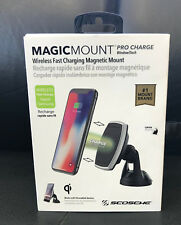 SCOSCHE MAGIC MOUNT PRO CHARGER Qi Wireless Devices Apple iPhone 8 + 10 /Samsung