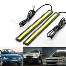 High quality 2 X Car LED 6000k DRL Daytime Running Light Stick-on 12V US LOCALS