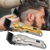 Professional Men Electric Hair Clipper Hair Trimmer Haircut Hair Cutting Machine