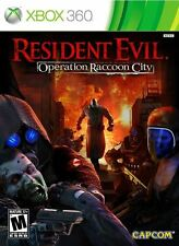 Resident Evil: Operation Raccoon City (XBOX 360) BRAND NEW