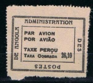 Angola Air Postage Due af 30 (1945) Taxe Perçu/Taxa Cobrada 26,10Ag MNGAI