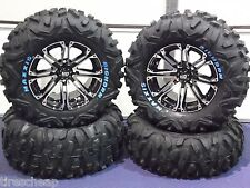 "26"" SUZUKI KING QUAD BIGHORN RADIAL RWL ATV TIRE & 14"" WHEEL KIT SS3 COMPLETE"