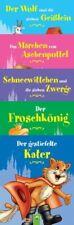 ? 5 Minibücher Märchenklassiker für Kinder ab 3 Jahre Geschichten NEU OVP ?