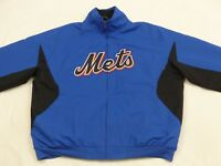 *NEW YORK METS CASUAL TARTER MLB JACKE*USA*VINTAGE*BASEBALL*BLAU*GR: L*TIP TOP