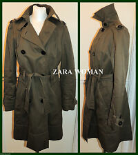 Zara Knee Length Double Breasted Coats & Jackets for Women