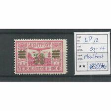 Ned. Indie  LP12 plaatfout  Luchtpost MNH/postfris  CV 50 €