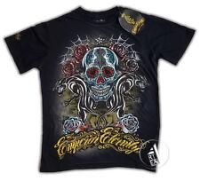 T-Shirt Tattoo SKULL STYLE EMPEROR ETERNITY  MINUTE MIRTH  Ed Hardy SHIROI NEKO