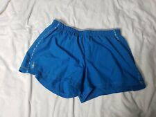 SMARTWOOL PhD Shorts Running Lined Zip Pocket Blue size Medium