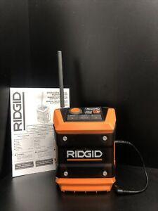 Ridgid 18V  R84086 Cordless Mini Bluetooth Radio Tool Only