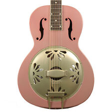 GRETSCH G9202 HONEYDIPPER SPECIAL CACTUS FLOWER RESONATOR GUITAR  ROUND NECK