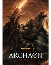 Archaon: Lord of Chaos - Rob Sanders - Sigmar Prequel End of Times - Ltd Edition