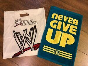 WWE Wrestling John Cena Never Give Up Rally Towel