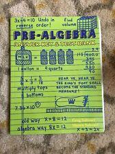 Teaching Textbooks Pre-Algebra  (1.0 Version) Answer Key And Test Bank