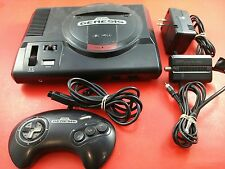 Sega Genesis 16-Bit System [w/1 Official Controller & All Cables] Tested Works