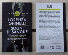 LORENZA GHINELLI - SOGNI DI SANGUE  -COLLANA LIVE N° 27  Newton