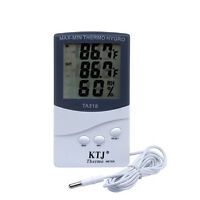 Digital LCD Indoor/Outdoor Thermometer Hygrometer Meter Temperature Humidity、Hot