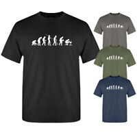 Evolution Of The Geek Nerd Computer Funny Sarcastic Slogan New Mens T-shirt