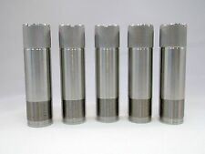 SET OF 5 BRILEY STAINLESS BROWNING INVECTOR PLUS CHOKE TUBE SPORTING CLAYS