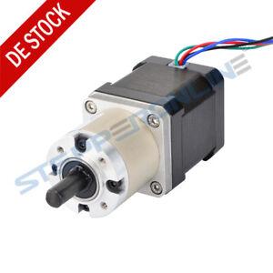 14:1 Planetengetriebe Nema 17 Stepper Motor High Torque 1.68A 48mm Schrittmotor