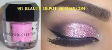 New PINK Loose Glitter Pigment Powder Cosmetics Makeup Eyeshadow