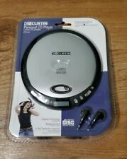 New Sealed Vintage Curtis Programmable Personal Cd Player Cd145 with Headphones