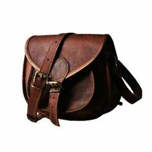 Vintage Women Handbag Messenger Tote Leather Purse Crossbody Shoulder Sling Bag