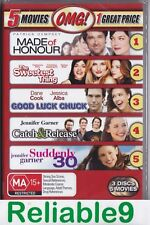 Made of honour+Sweetest thing+Good luck Chuck+Catch & release+Suddenly 3DVD Seal