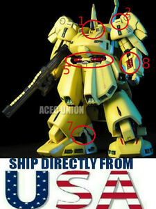 USA SELLER Metal Detail Up Part Set For Bandai 1/144 036 PMX-003 THE-O Gundam